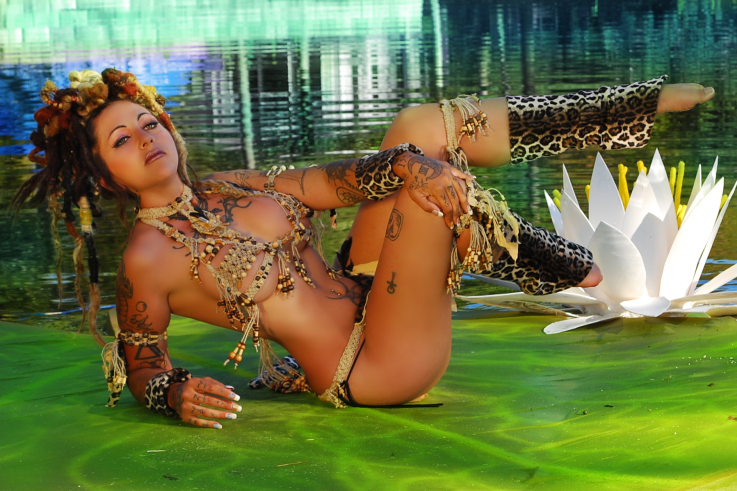 xzanthia model, florida modeling network tribal fantasy tampa